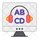 Audio Learning Audio Education Audio Lesson Icon