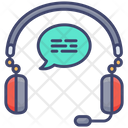 Audio Lesson Education Headphones Icon