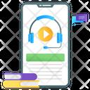 Lecture Audio Lesson Audio Guide Icon