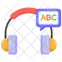Audio Learning Audio Lesson Audio Class Icon