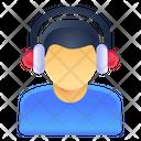 Audio Listening Icon