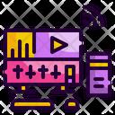 Online Music Audio Mixer Music Icon