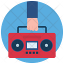 Audio Player Sound Player Cassette Player Icon