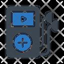 Audioplayer Earphone Media Icon