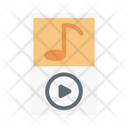 Audio Player Music Icon