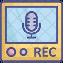 Audio Recorder Call Recorder Recording Device Icon