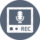 Audio Recorder Call Recorder Recording Device Icon