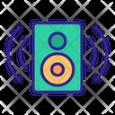 Music Acoustic Art Icon
