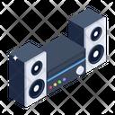 Audio Speakers Audio Player Sound System Icon