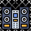 Audio System Sound Speaker Cd Player Icon