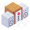 Music System Audio System Stereo System Icon