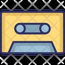 Audio Tape Sette Cassette Tape Icon