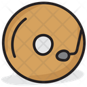 Music Disc Audio Turntable Music Player Icon