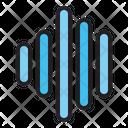 Audio Wave Audio Music Icon