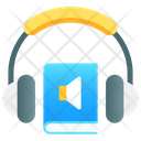 Audiobook Blended Learning Ebook Icon