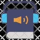 Audiobook Audio Reading Icon