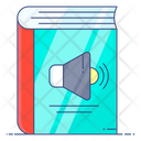 Audiobook Audio Learning Audio Lesson Icon