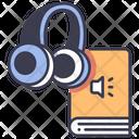 Audiobook Audio Education Icon
