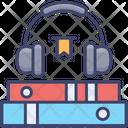Audiobook Education Headphone Icon