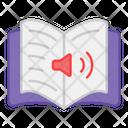 Audiobook Audio Learning Audio Education Icon