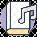 Audiobook Music Book Icon