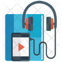 Audiobook Learning Elearning Listening Icon