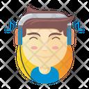 Audiophile Boy Icon