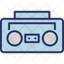 Audiotape Player Cassette Player Cassette Recorder Icon