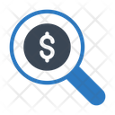 Audit Dollar Search Icon