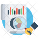 Audit Business Report Data Analysis Icon