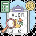 Audit Inspection Examine Icon