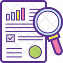 Audit Business Analysis Icon