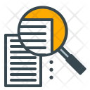 Audit Notes Research Icon