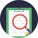Audit Reporting Survey Icon