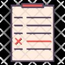 Audit Survey List Icon