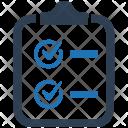 Audit Checklist Clipboard Icon