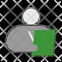 Auditor Clerk Accountant Icon