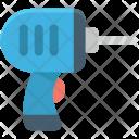 Auger Drill Machine Icon