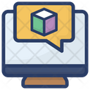 Augmented Chat Designer Chat Augmented Reality Icon