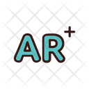 Augmented Reality Ar Technology Icon