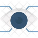 V Augmented Reality Eye Tap Eye Tap Augmentation Icon