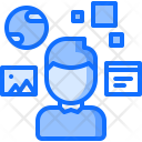 Augmented Reality Interface Icon