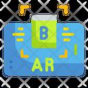 Augmented Reality Technology Electronics Education Icon