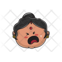 Aunt Crying Icon