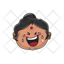 Indian Aunty Emoji Icon