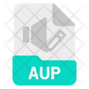 Aup File Document Icon