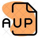 Aup File Audio File Audio Format Icon
