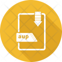 Aup File Format Icon