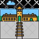 Auschwitz Holocaust Memorial Icon