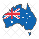 Australia Country Geograpgy Icon